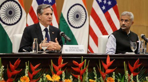 Блинкен встретился с представителем Далай-ламы в Индии