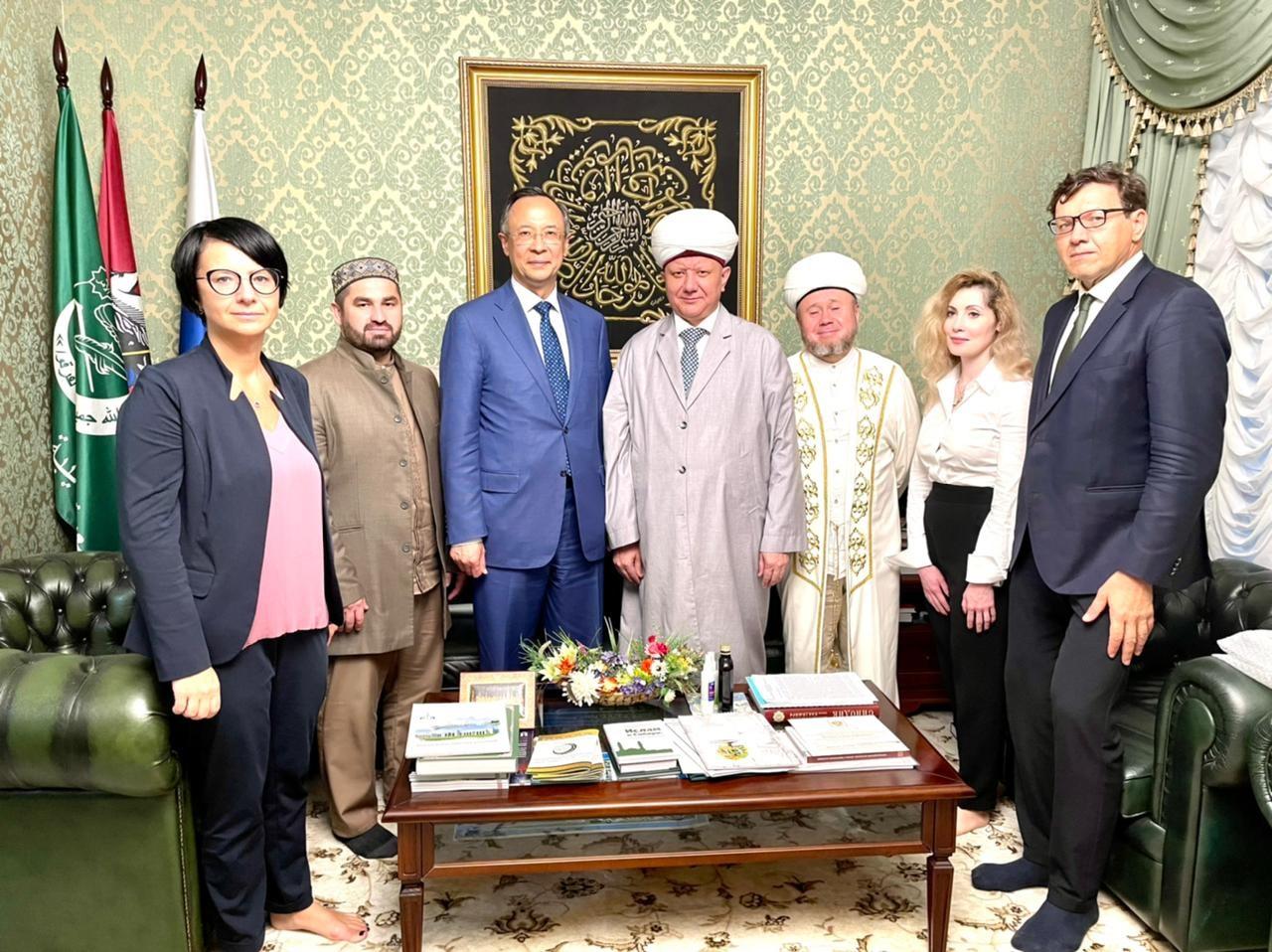 ДСМР и ОБСЕ выходят на новый уровень сотрудничества