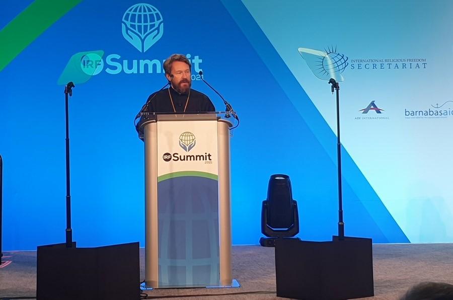 Председатель ОВЦС выступил на Саммите по религиозной свободе