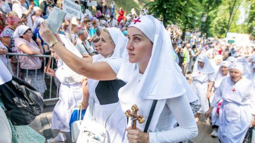 Крестный ход УПЦ МП в Киеве - знак силы или угроза Зеленскому?