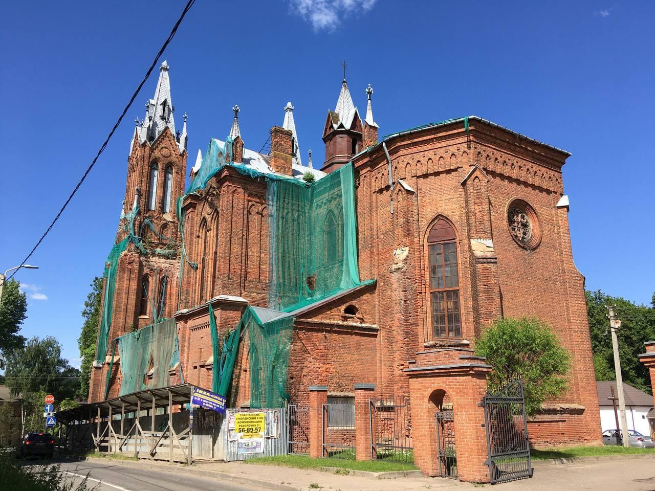 Католический храм в Смоленске: история борьбы за право на молитву