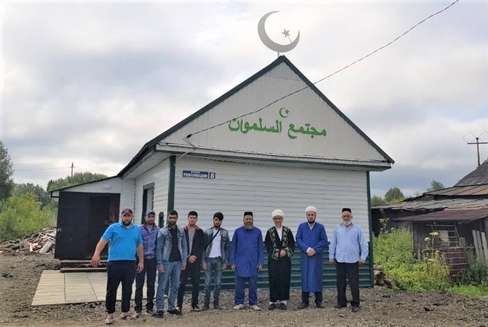 В Свердловской области открылась новая мечеть