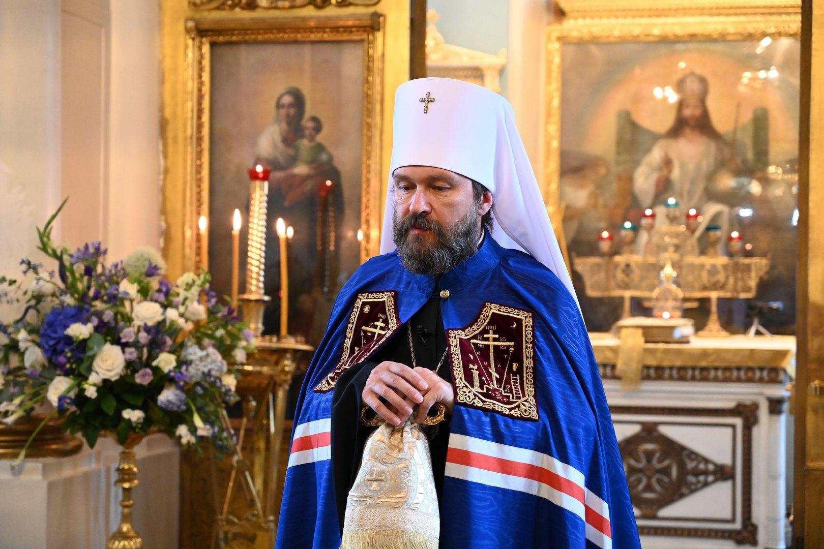 Митрополит Иларион - о межрелигиозном диалоге и роли ОВЦС