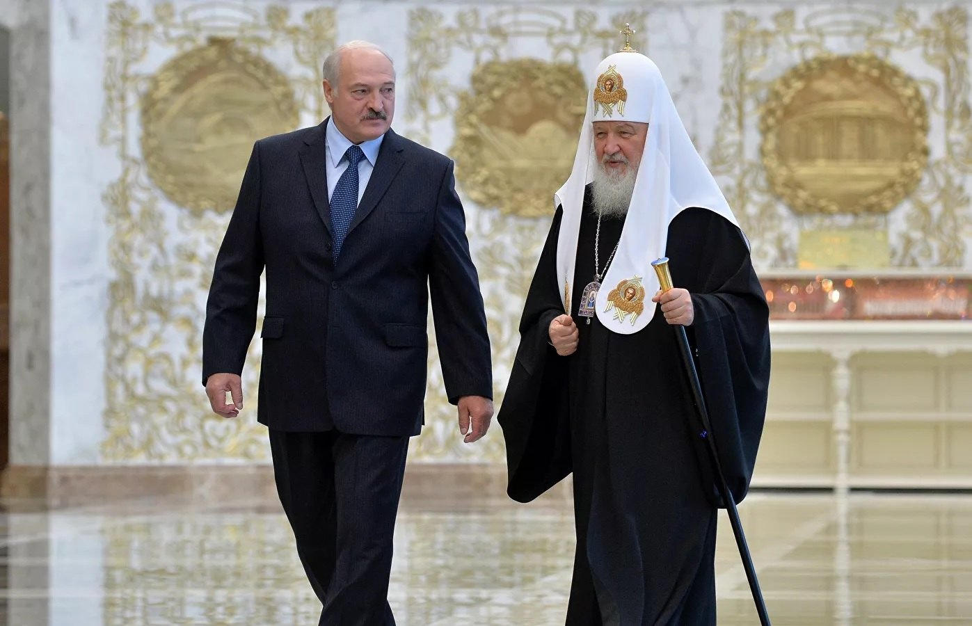 Лукашенко и Патриарх Кирилл обсудили межконфессиональные дела