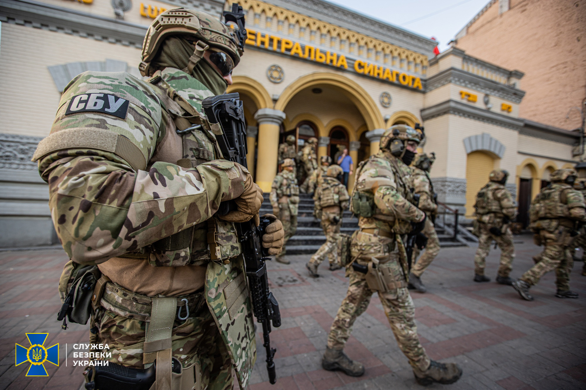 Украинские силовики провели учения и освободили посла Израиля