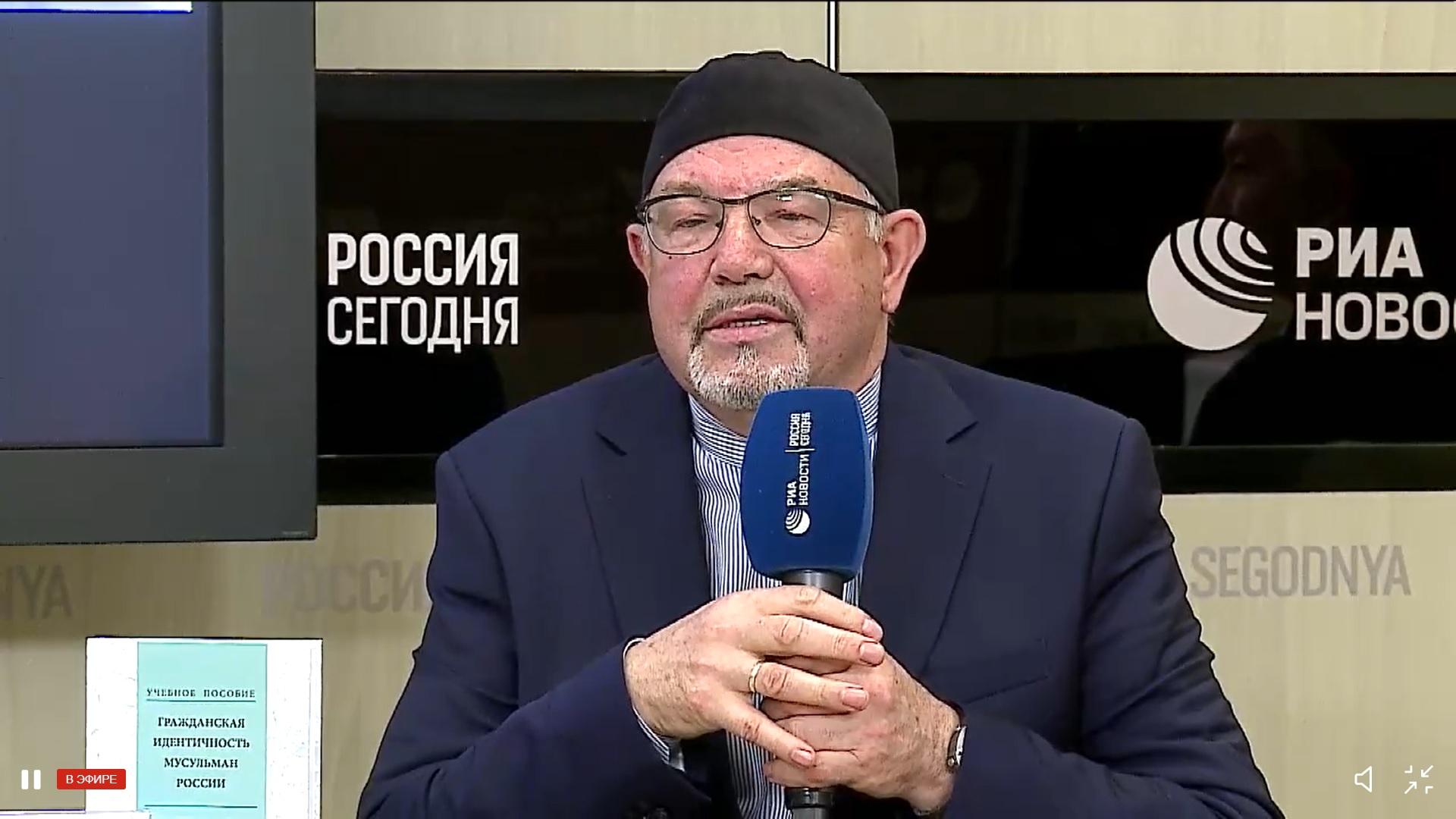 Рафик Мухаметшин: российские мусульмане должны служить в армии
