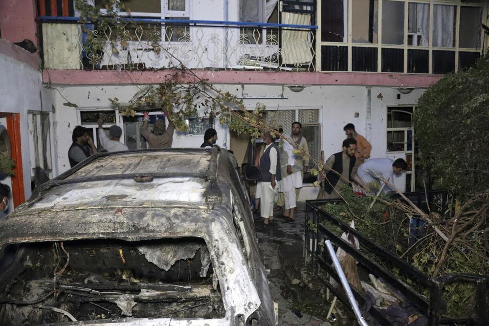 США: беспилотник убил боевиков ИГ*, угрожавших аэропорту Кабула