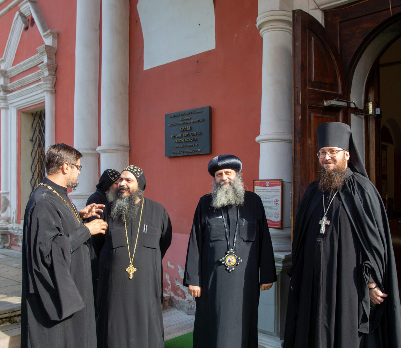 В Москву прибыла делегация монастырей Коптской Церкви
