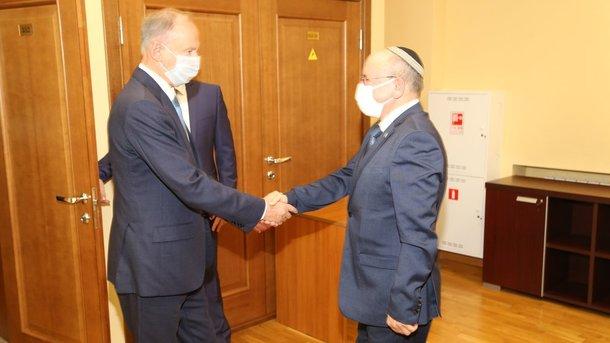Патрушев встретился с главами Совета нацбезопасности Израиля