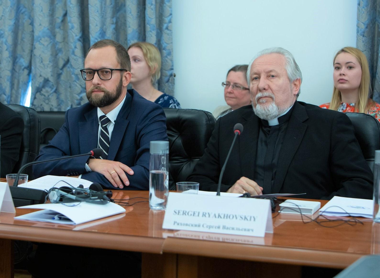 Ряховский: не может быть христианского государства - только светское
