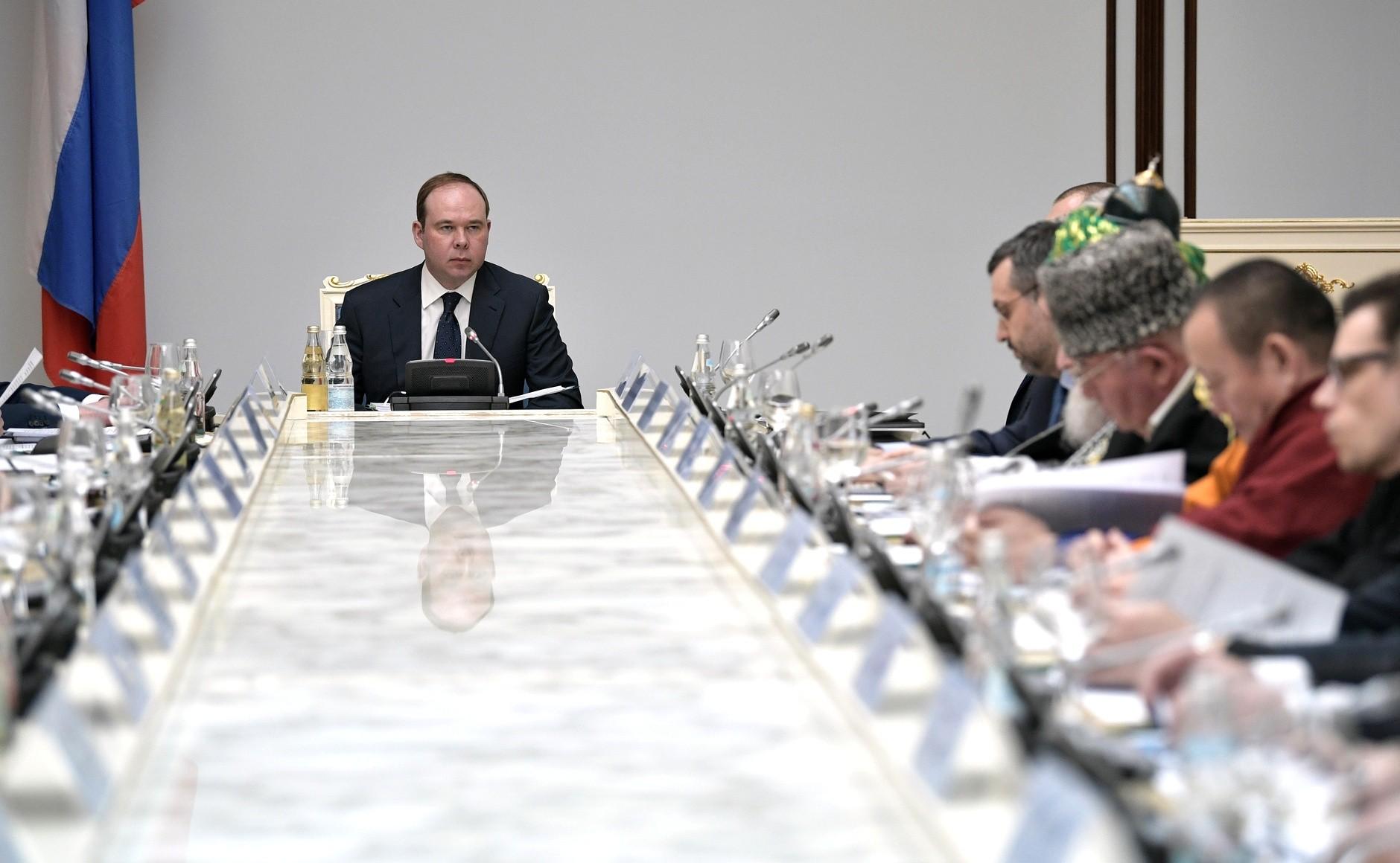 Внесены изменения в состав религиозного Совета при Президенте РФ
