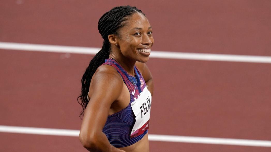 Эллисон Феликс - самая титулованная женщина-олимпийка