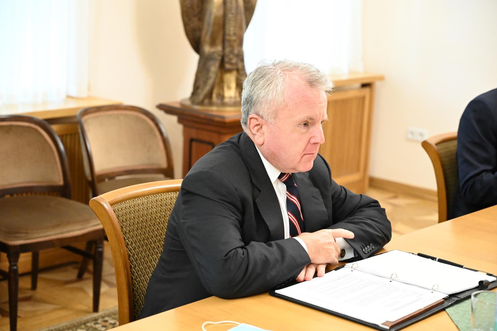 Председатель ОВЦС встретился с послом США в России