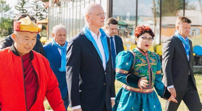 Иволгинский дацан посетила официальная делегация Казахстана