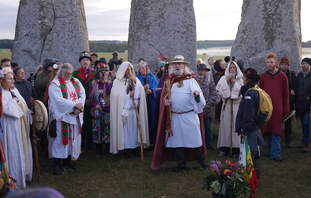 Британские друиды отметили праздник Мабон