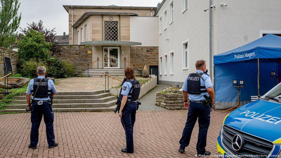 В Хагене на западе Германии предотвратили теракт в синагоге