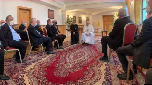 Беседа Папы Франциска со словацкими иезуитами
