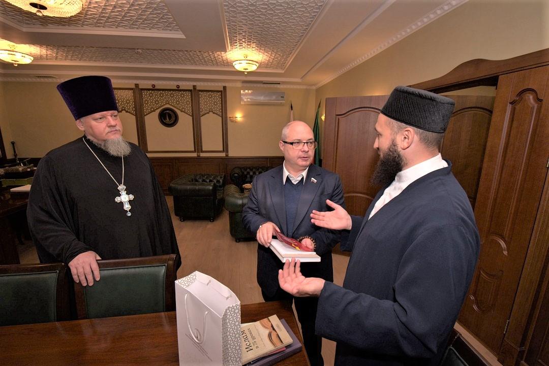 Муфтий Татарстана встретился с депутатом Сергеем Гавриловым