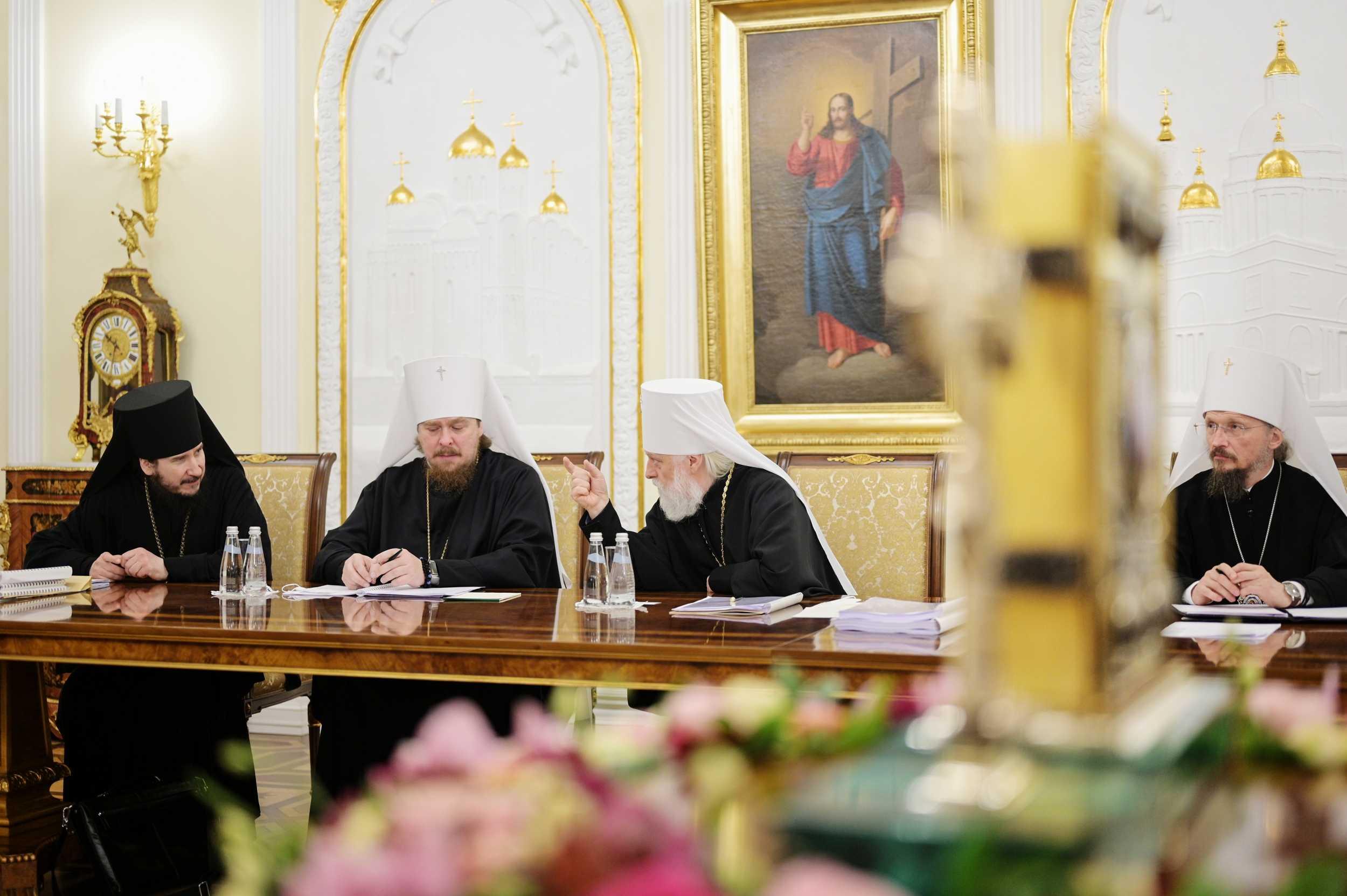 Синод: РПЦ готовится принимать клириков Александрийской Церкви