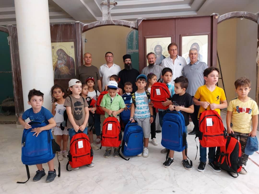 Подарки из России получили ученики приходской школы в Сирии