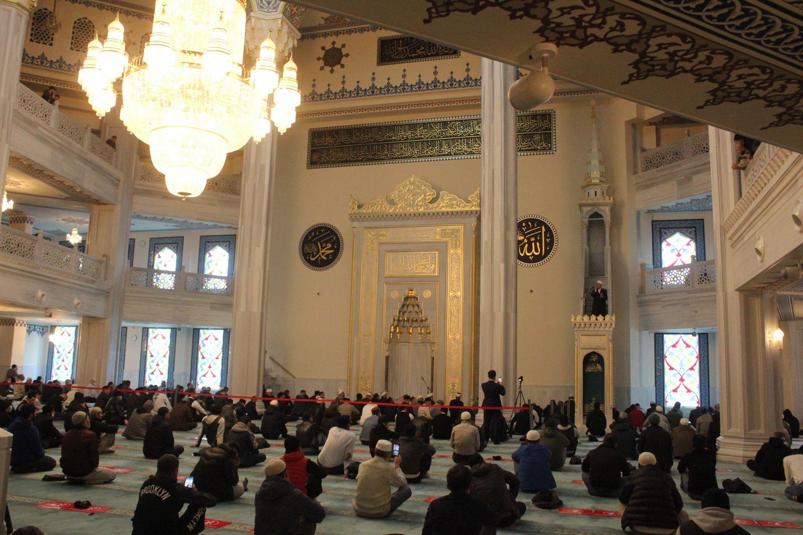 Верховный муфтий Иордании шейх Абдуль-Карим Хасавнех в Москве