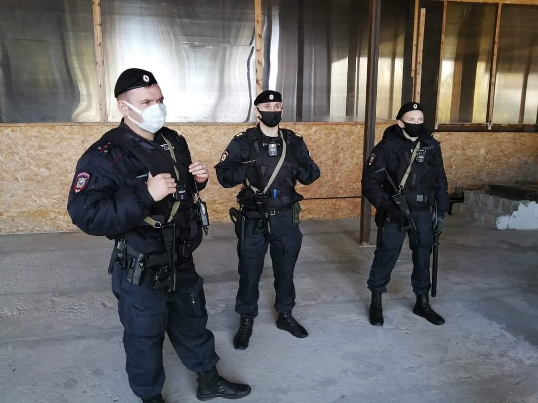 В Коломне мусульманам нанесли рейд вежливые полицейские