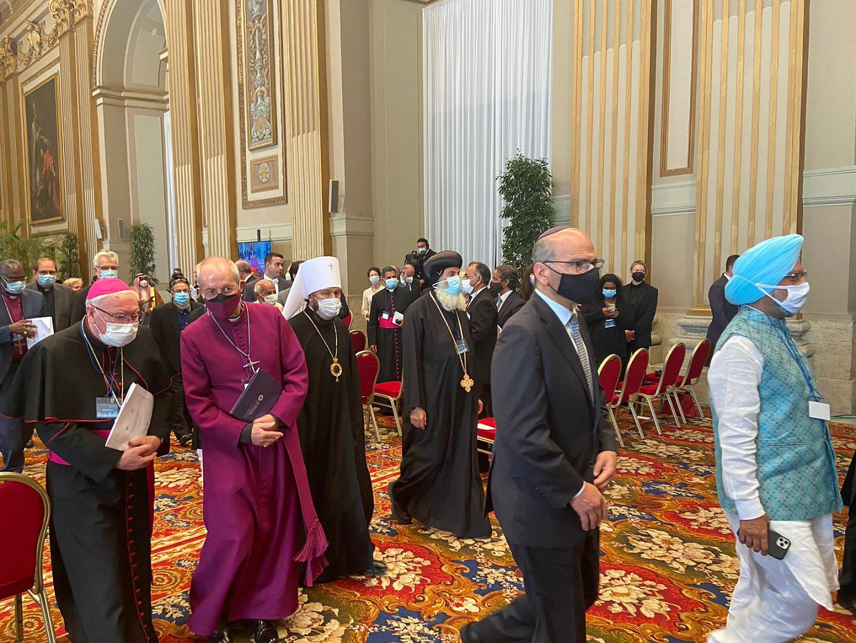 Саммит религиозных лидеров в Риме