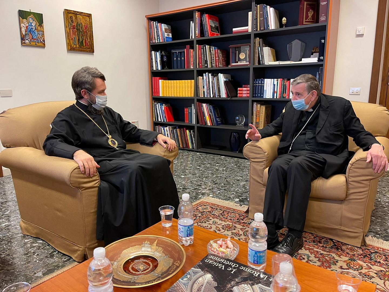 Митрополит Волоколамский Иларион встретился с кардиналом Кохом
