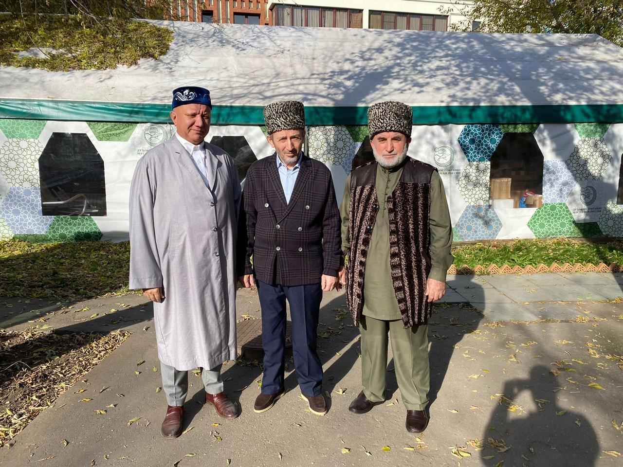 Братская встреча главы ДСМР муфтия Крганова с муфтиями Кавказа