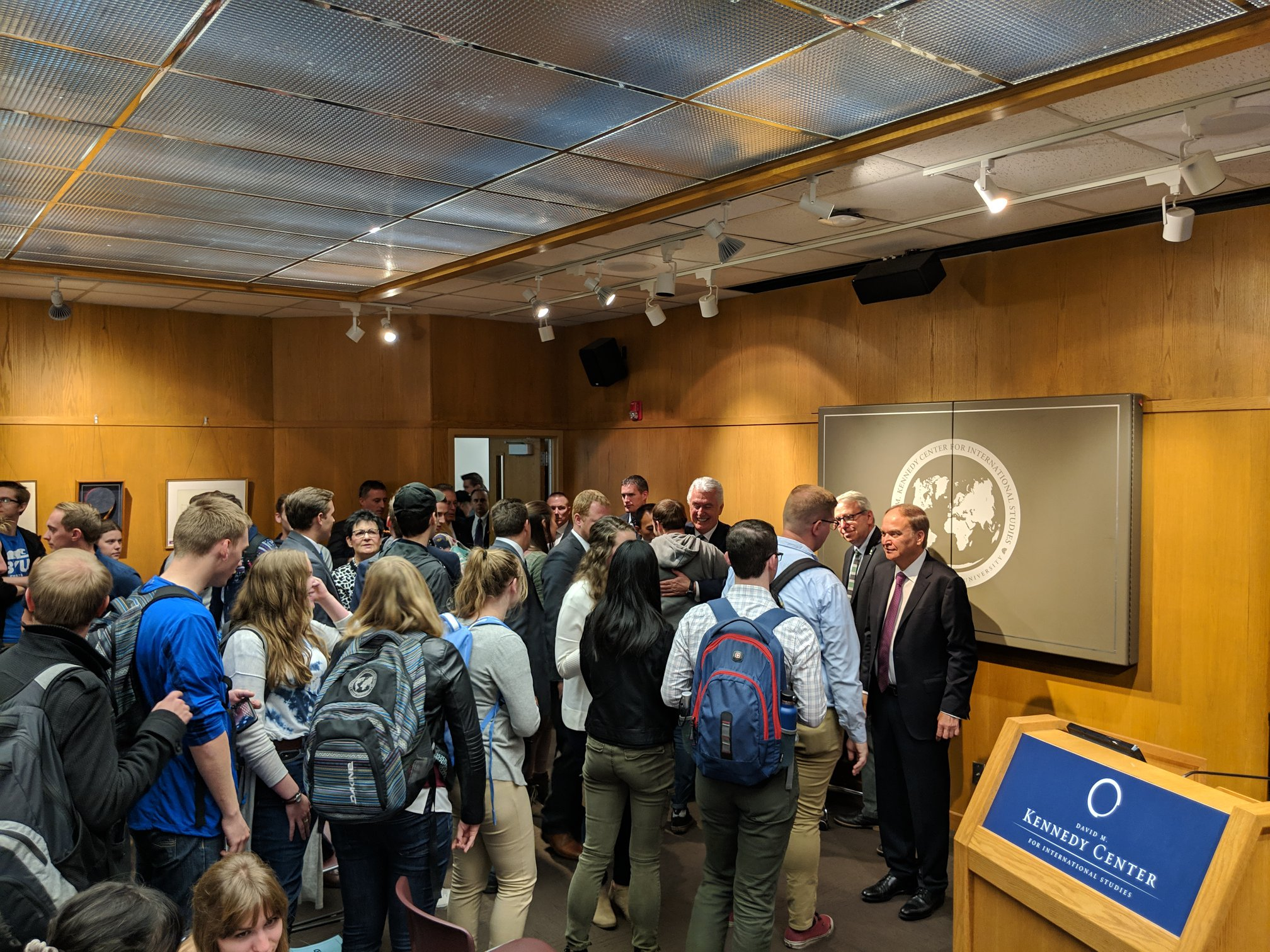 Российские дипломаты выступили перед студентами BYU в США
