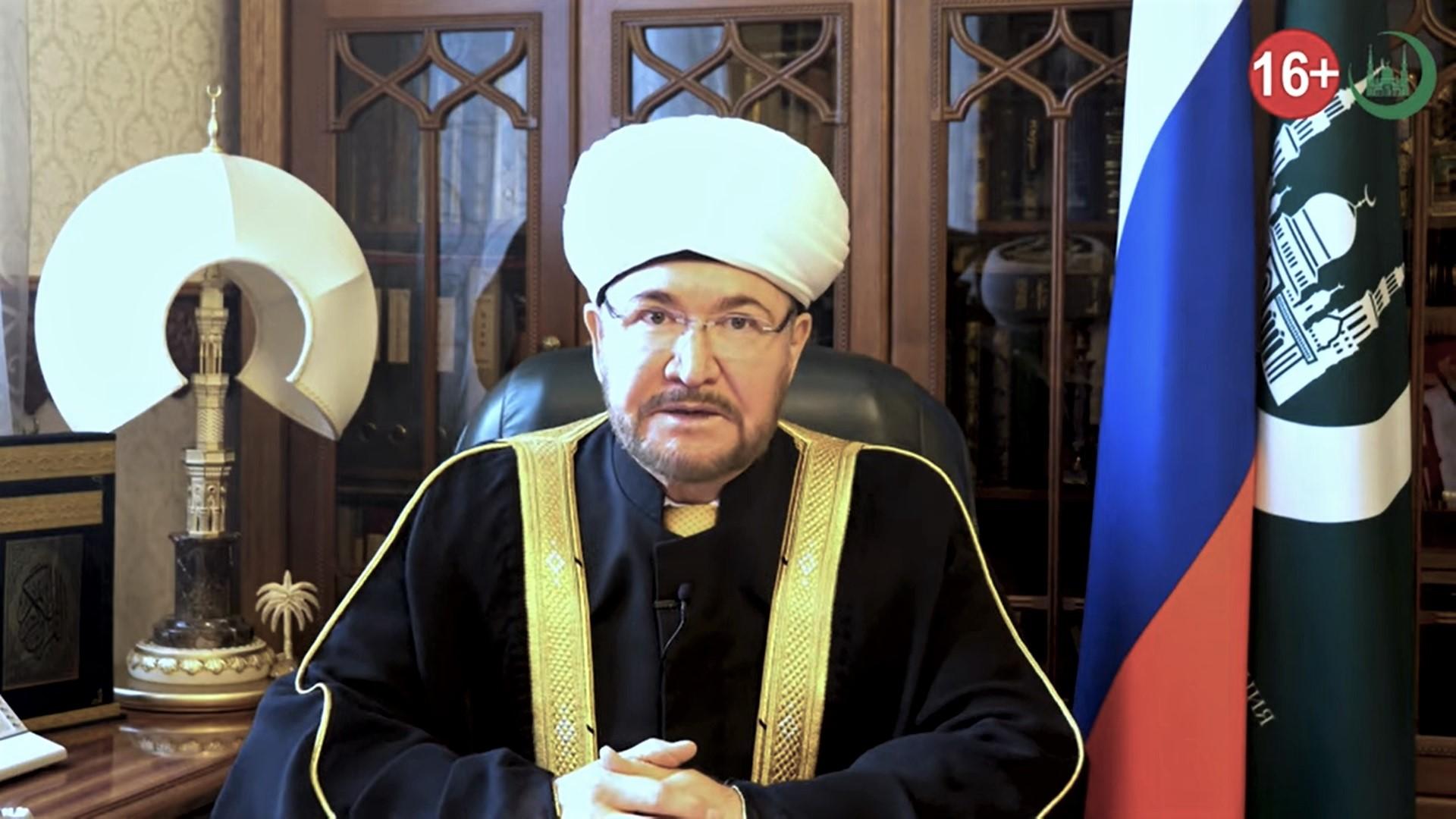 Муфтий Гайнутдин на татарском и русском призвал к переписи - 2021