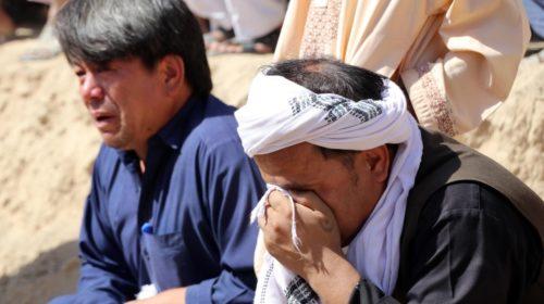 «ИГ*» взяло ответственность за гибель 63 человек в мечети Кандагара