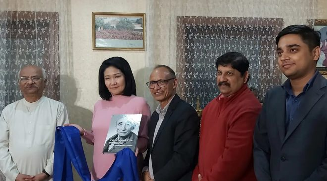 Индийская делегация в центре буддизма Забайкалья