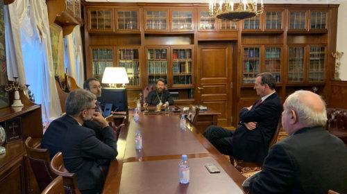 Председатель ОВЦС встретился с Общиной святого Эгидия