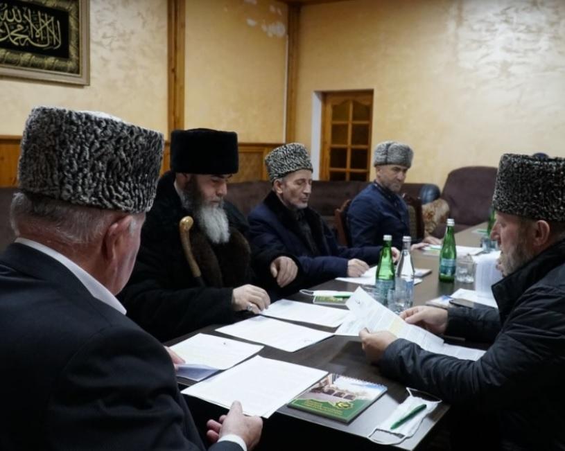Муфтии Северного Кавказа из КЦМСК провели общую встречу