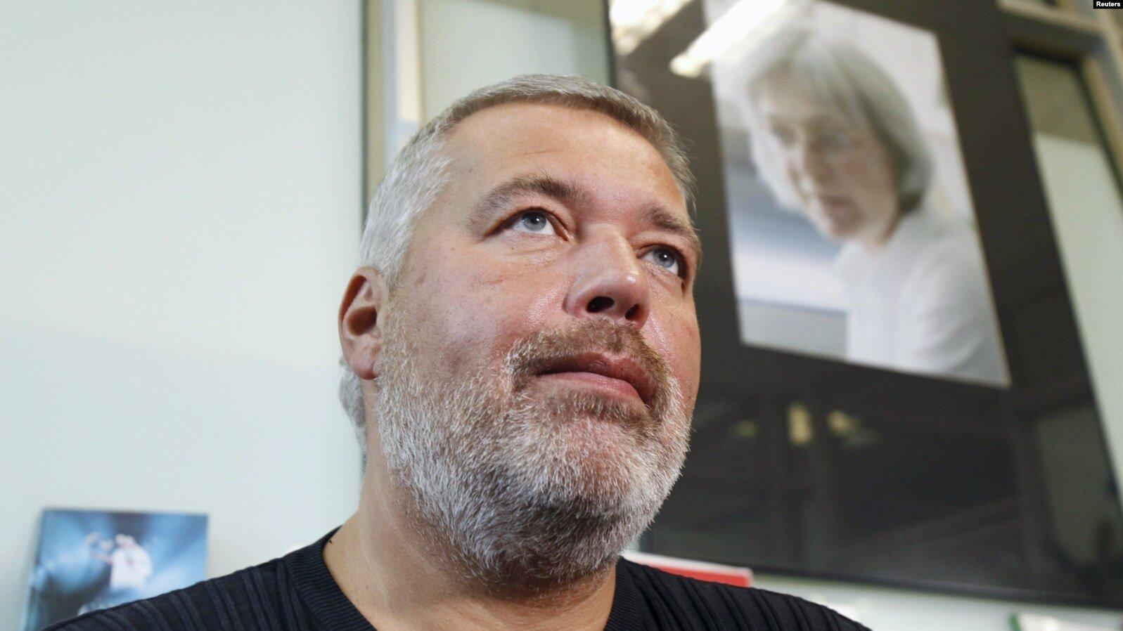 Лауреат Нобелевской премии мира в 2021 - Дмитрий Муратов