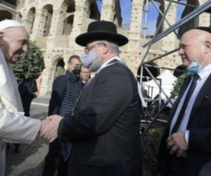 Глава совета раввинов Европы встретился с Папой Римским