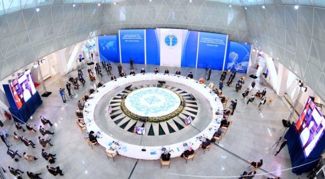 Секретарь ОВЦС по межрелигиозным отношениям священник Димитрий Сафонов принял участие в Съезде лидеров мировых и традиционных религий