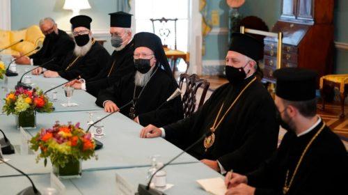 Байден и Варфоломей обсудили климат и свободу вероисповедания